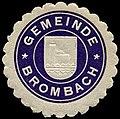 Siegelmarke Gemeinde Brombach W0310575.jpg