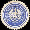 Siegelmarke Königliche Eisenbahn - Telegraphie W0212983.jpg