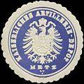 Siegelmarke K. Artillerie-Depot Metz W0346825.jpg