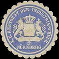 Siegelmarke K. Bayer. Rektorat der Industrieschule zu Nürnberg W0353245.jpg