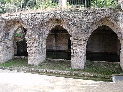 Fonte di Follonica, archi