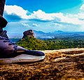 Sigiriya from Pidurangala with Traveler Stepping.jpg
