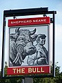 Sign for the Bull, Newick - geograph.org.uk - 985190.jpg