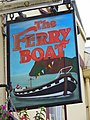 Sign for the Ferry Boat Inn - geograph.org.uk - 941657.jpg