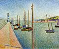 Signac, The masts, Portrieux, Opus 182.jpg
