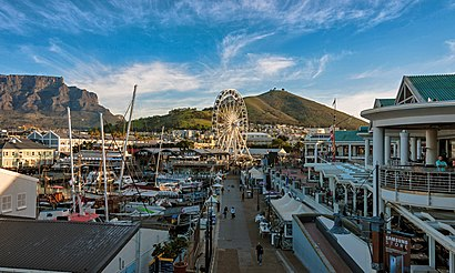 How to get to V & A Waterfront with public transport- About the place
