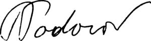 Tzvetan Todorov - Image: Signature Tzvetan Todorov bw