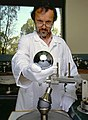 Silicon sphere for Avogadro project.jpg