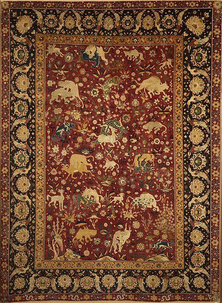 silk carpet - image 5