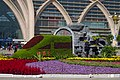 Silk Road flower decoration at Yinchuan Railway Station East Square (20171006104727).jpg