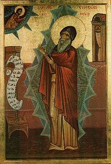 Symeon the New Theologian 10th and 11th-century Christian saint, monk, and theologian