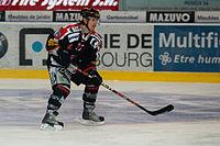 Simon Gamache - Fribourg-Gotteron vs. HC Bienne, 25.11.2011 (2).jpg