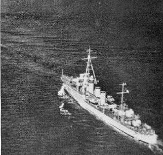 Bourrasque-class destroyer - Image: Simoun 3