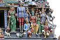 Singapore. Sri Mariamman. Gopuram. South East-19.JPG