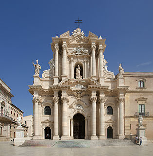 Cathedral of Syracuse church building in Syracuse, Italy