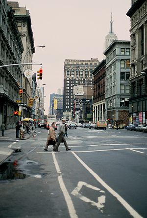 Sixth Avenue (Avenue of the Americas) in Manha...