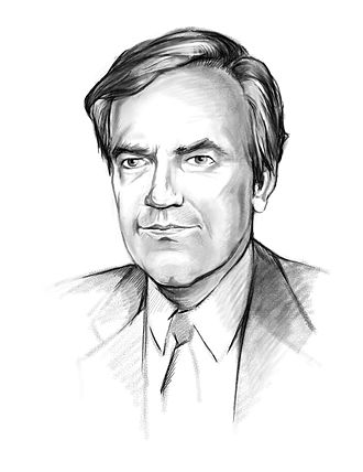 Vince Foster - Sketch of Vince Foster