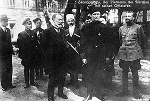 Pavlo Skoropadskyi - Pavlo Skoropadsky (right center)