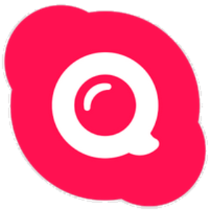 Skype Qik - Image: Skype Qik logo rus