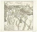 Slag bij Malplaquet, 1709 Plan der Battaille bey Blaregnies oder Malplaquet, Geschehen d. 11 Sept 1709 zwischen der Aliirten Armée unter Commando D. Prince Eugene und Hertzogs Marleboroug, u.d. Frantzösischen und Spanis, RP-P-1909-395.jpg