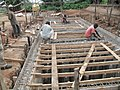 Slaughterhouse's wastewater treatment system under construction (6346822121).jpg