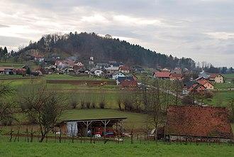 Carniola - Landscape of Lower Carniola in Slepšek
