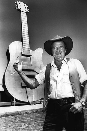 Slim Dusty - At the Golden Guitar awards in Tamworth