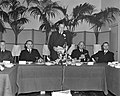 Slotbijeenkomst Nationale Demobilisatieraad. Rede Prins Bernhard, Bestanddeelnr 904-6415.jpg