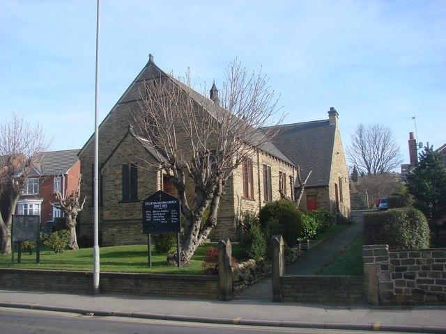 Smithies Wesleyan Reform Church, Wakefield Road, Smithies - geograph.org.uk - 329876