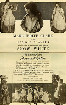 Snow White 1916 Film Wikipedia