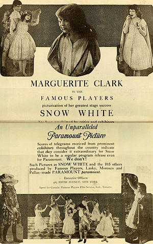 Snow White (1916 film) - Advertisement (1917)
