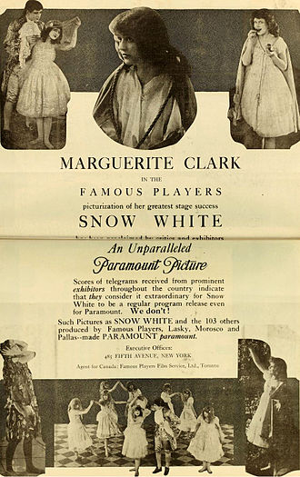 Snow White (1916 film) - Advertisement (1917)