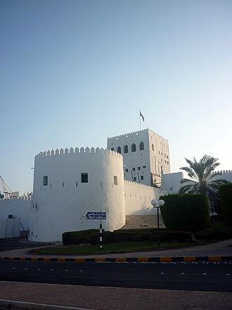 Sohar - The fort at Al Hujra.