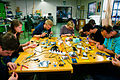 Solder workshop at FIXME Hackerspace, Renens, Lausanne (2015-05-23 06.25.46 by Mitch Altman).jpg