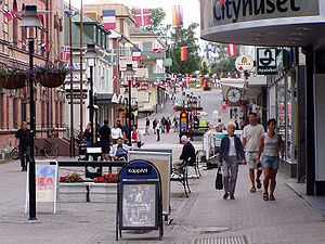Sollefteå - Storgatan in Sollefteå