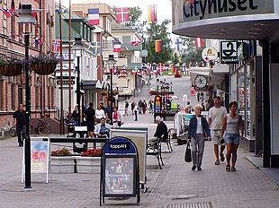 Storgatan in Sollefteå