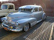 "1948 Chevrolet Fleetline ""Bomb"" from the Viejitos Car Club Orange County"