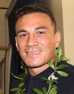 Sonny Bill Williams New Zealand rugby player and heavyweight boxer
