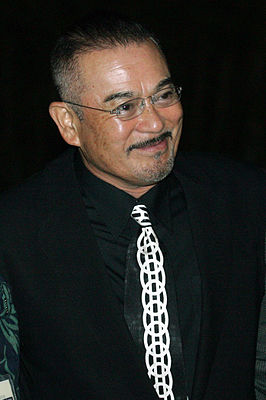 Sonny Chiba tijdens Hawaii International Film Festival, 2005