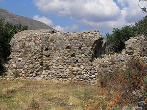 Syia - Image: Sougia Basilika Ruins