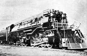 Southern Pacific class AC-9 - Image: Southern Pacific AC 9 steam locomotive