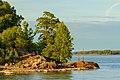 Southern tip of Luoto island in Kaivopuisto, Helsinki, Finland, 2018 June.jpg