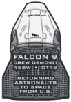 SpaceX Demonstration Mission 1 patch by Air Force.png