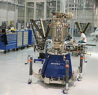 Merlin (rocket engine family) - Merlin 1C under construction at SpaceX factory