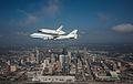 Space Shuttle Endeavour Over Houston, Texas.jpg