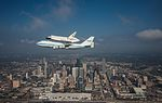Space Shuttle Endeavour Over Houston, Texas.jpg