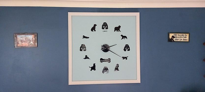 Spaniel clock 1 square metre.jpg