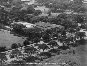 Casino Español de Manila - Aerial view of the Casino Español de Manila (1930)