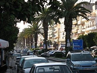 Sparta (modern) - View of a street