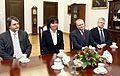 Spotkanie Prezydium Naczelnej Rady Adwokackiej z marszałkiem Senatu 2008.JPG